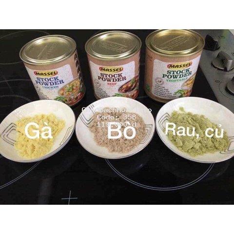 Gia vị hạt nêm Massel của Úc