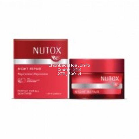 Kem dưỡng da ban đêm ngừa lão hóa da tinh chất collagen tổ yến Nutox