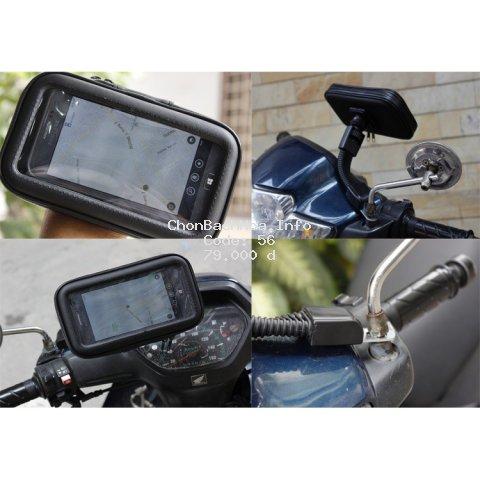 [XÃ KHO] Giá đỡ chống nước cho điện thoại gắn xe máy pks