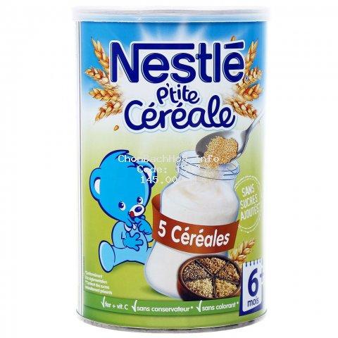 Bột pha (lắc) sữa Nestle 400g đủ vị cho bé từ 6m+