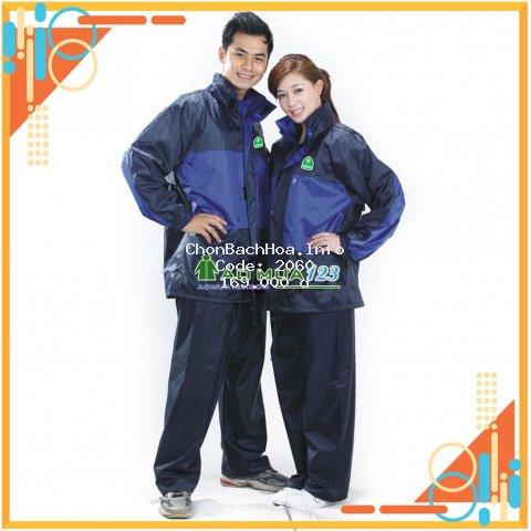 [Hàng cao cấp] Bộ quần áo mưa 2 lớp 3 công dụng chống mưa, chống lạnh, siêu chống thấm