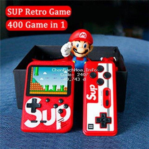 [Mã CB2703 giảm 20% đơn 0đ] Máy chơi game cầm tay tích hợp 400 trò chơi