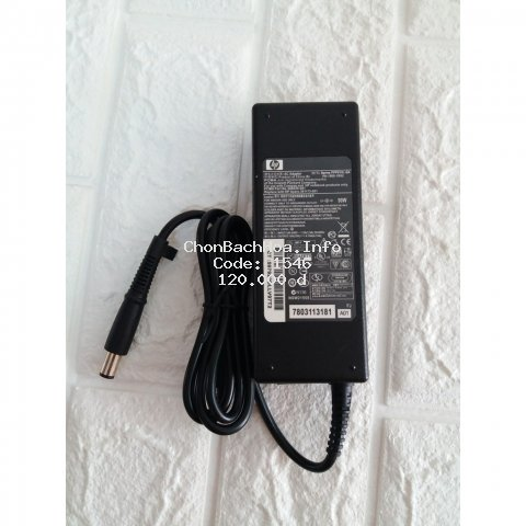 SẠC LAPTOP HP 19V -  4.74A chân kim to Nhập khẩu chất lượng cao - Tặng kèm dây nguồn