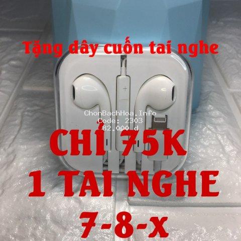 Tai nghe chân lighting và chân 3.5 dành cho iphone 6/6Plus/7/7Plus/8/8Plus/X/Xr/XsMax/11/11Pro/11ProMax