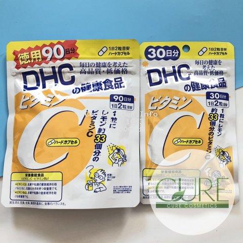 Viên bổ sung Vitamin C DHC của Nhật Date 2022