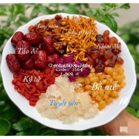 10 Nguyên liệu nấu chè dưỡng nhan tự chọn