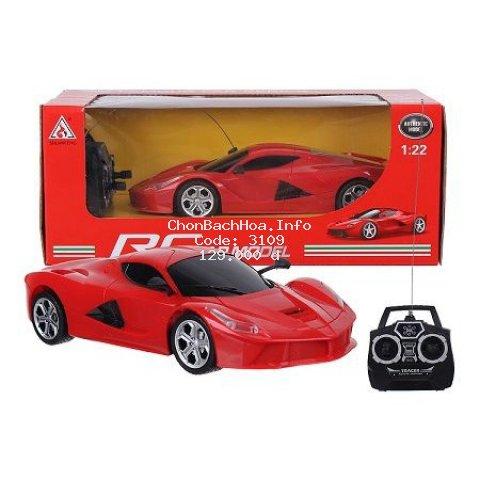 Siêu Xe Ngựa Hoang Ferrari - Xe điều khiển pin sạc cực bền
