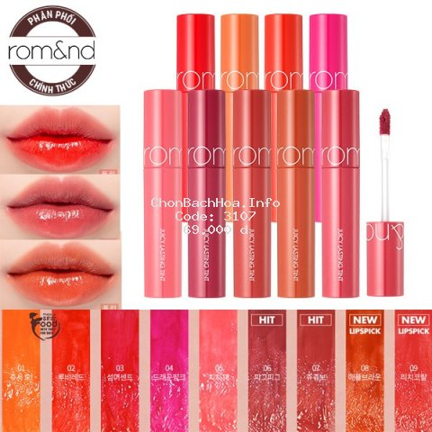 Son Tint Lì Romand Juicy Lasting Tint