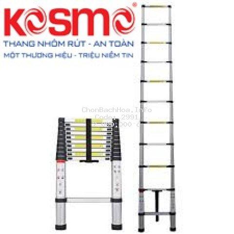 THANG NHÔM RÚT KOSMO ĐƠN 3M2