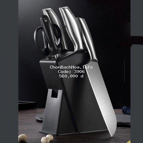Bộ dao kéo dụng cụ nhà bếp 5 món cao cấp công nghệ Đức hiệu OKO