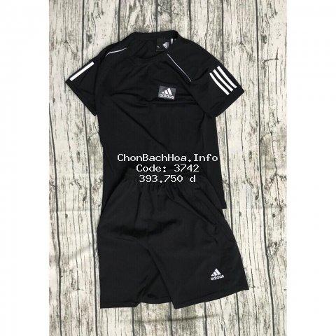Bộ thể thao cao cấp Adidas 3 vạch viền tay [ hot trend ]