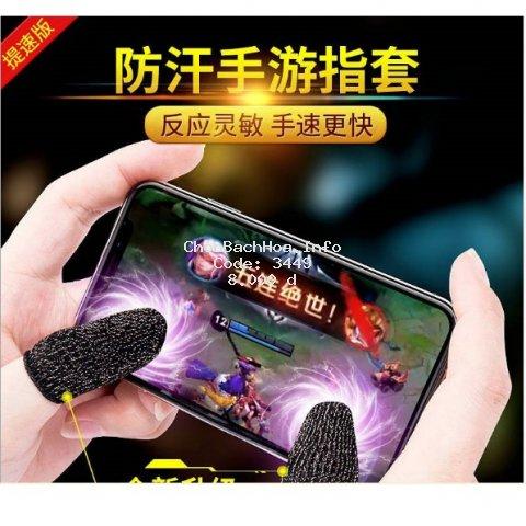 Găng tay cảm ứng chơi game chống mồ hôi cho điện thoại , máy tính bảng