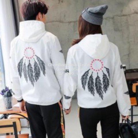 [GIÁ SỈ] áo khoác hình lông vũ siêu hót mã 33