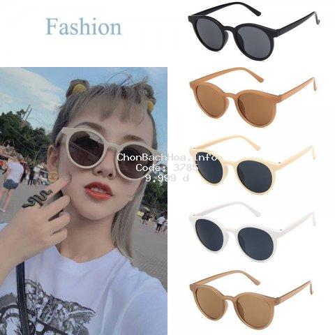 Kính râm gọng tròn với tròng chống tia UV400 nhiều kiểu sành điệu Sunglasses