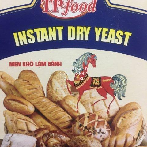 Men nở làm bánh mì, men khô instant dry yeast