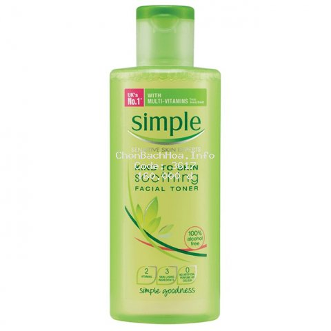 Simple Kind-To-Skin Soothing Facial Toner