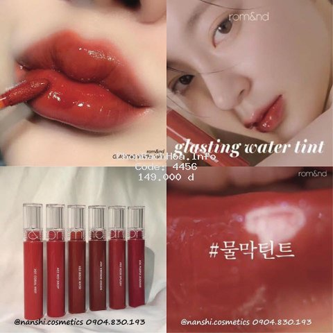 Son Romand Glasting Water Tint 04