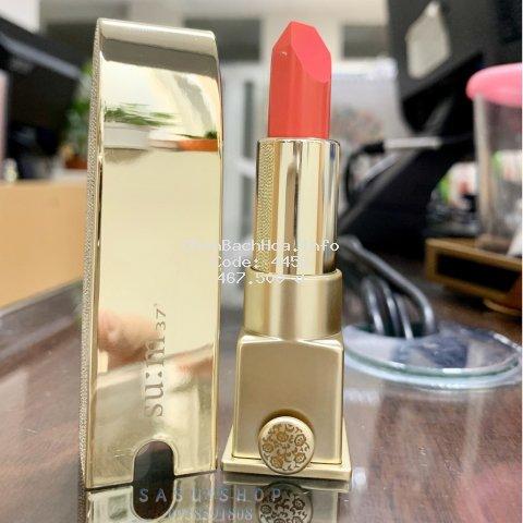 Son Su:m37 Losec Summa Elixir Golden Lipstick Màu 3 Coral Fullsize [Tách sét, không hộp]