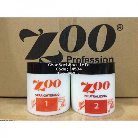 Thuốc ép/ duỗi tóc,thảo dược cao cấp không cần nhiệt zoo15
