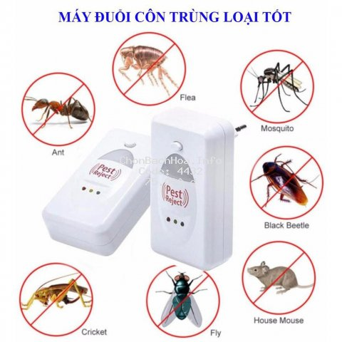 [TM20] Thiết Bị Xua Đuổi Côn Trùng Pest Rejeck _(CÓ BẢO HÀNH)