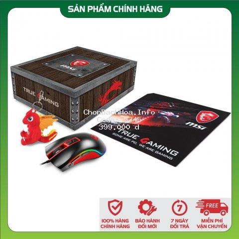 [Chính Hãng] Combo Chuột Game MSI M92 Gaming RGB + miếng lót True Gaming cao cấp