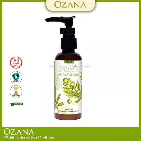 dầu xả phục hồi tóc khô xơ, hư tổn ozana (100ml)_chính hãng_ozana03