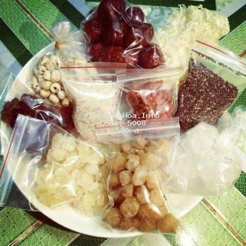 [Mã GRMSPS06 giảm 8% đơn 250K] Chè dưỡng nhan - các nguyên liệu tự chọn dành cho ai nấu ít chỉ 10g
