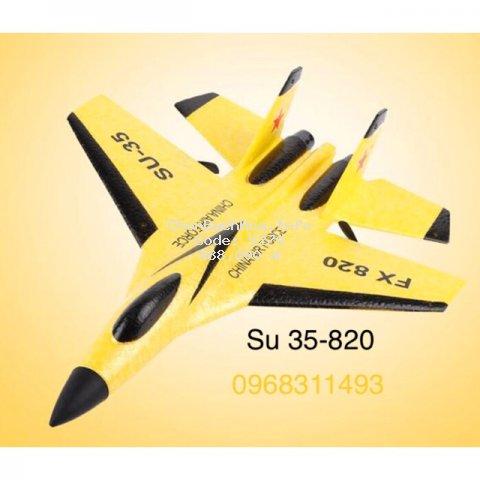 [Mã TOYSUMMER giảm 10% đơn tối đa 100K đơn từ 99K] Máy bay điều khiển Su 35-fx 820