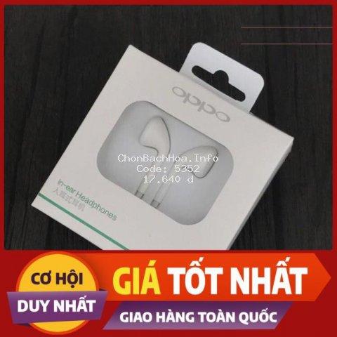 [Sale] Tai phone Oppo jack chuẩn 3.5mm cao cấp