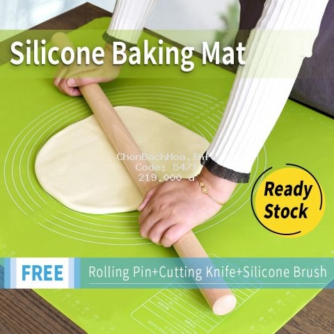 Silicone Baking Mat Non-Stick Soft Cooking Mat Kitchen Tools Size70*50cm