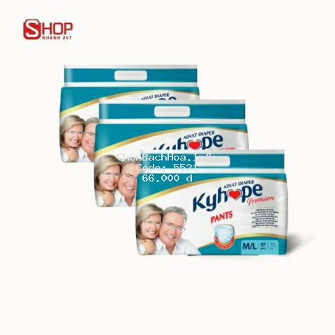 Tã quần Người lớn Kyhope Premium ML 07 miếng