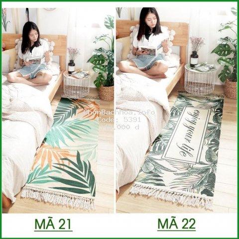 [ Thảm ] Thảm phòng khách , phòng ngủ chất len sợi cao cấp dầy dặn