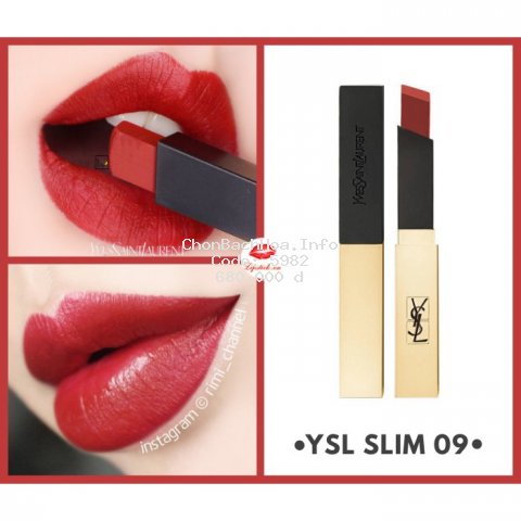 [Chính Hãng] Son YSL Rouge Pur Couture The Slim 09