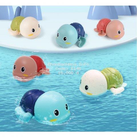 Đồ chơi nhà tắm Rùa Con biết bơi nhiều màu sắc đáng yêu