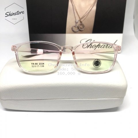 [ Free mắt cận ] gọng kính cận nhựa dẻo TR90-2334