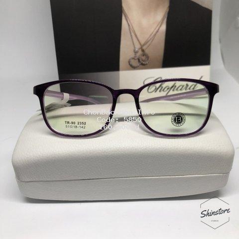 [ Free mắt cận ] gọng kính cận nhựa dẻo TR90-2352