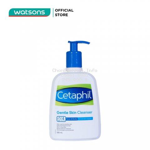 [MÃ COSMALL7 -10% ĐH250k]Sữa Rửa Mặt Cetaphil Gentle Skin Cleanser 500ml