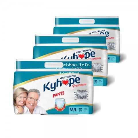 Tã quần Người già Kyhope Premium ML 7 miếng