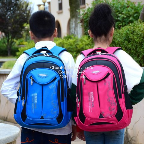 Balo học sinh tiểu học nam, nữ WEIKE BAGS chống thấm nước - nhiều ngăn, siêu nhẹ