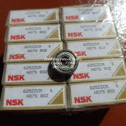 Bộ 10 vòng bi NSK 625zz 5*16*5 chuyên chạy tốc độ cao