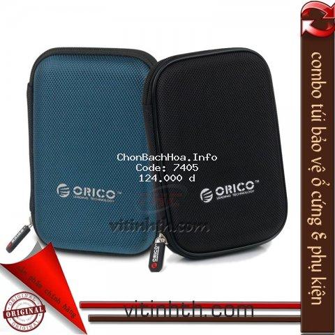 Combo 2 túi chống sốc ổ cứng & phụ kiện chính hãng ORICO PHD-25 - THComputer Q11