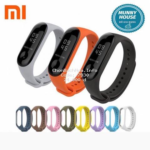 Dây đeo thay thế silicon cho M4 M3 Cho Xiaomi 3 Mi3 M3 - dây đeo đồng hồ cao su chất lượng cao