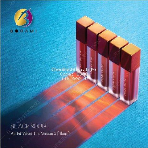 {HOT} Son Black Rouge Air Fit Velvet Tint (Version 4 + 5)