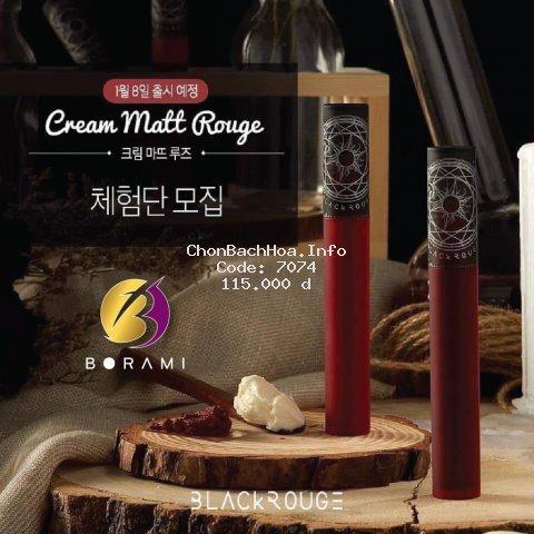 {HOT} Son Kem Lì Black Rouge Tarot Cream Matt Rouge 2020