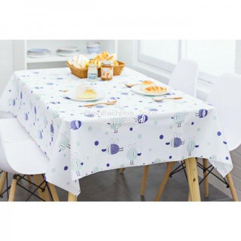 Khăn trải bàn chống thấm - Hình thật ở cuối