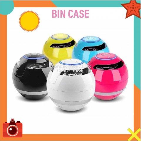 Loa Mini Trứng Bluetooth 360 Di Động Quả Cầu Tròn Hỗ Trợ Cắm Thẻ Nhớ Độc Đáo