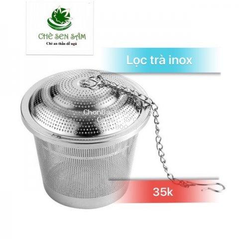 Lọc Trà Inox 304 ❤️FREESHIP❤️ Inox Cao Cấp - Hình Trụ Tiện Lợi( SP nhiều kích thước)