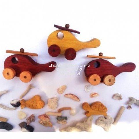 (MỚI RA MẮT) Máy bay đồ chơi bằng gỗ bé cực mê