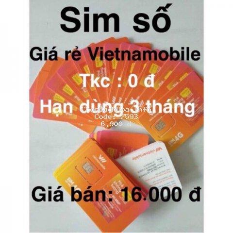 Sim Vietnam nghe gọi tạo tài khoản