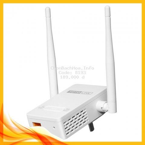Bộ Mở Rộng Sóng Wifi Totolink EX200 Chuẩn N Tốc Độ 300Mbps - Hãng phân phối chính thức